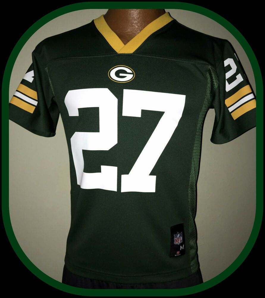 Details About Eddie Lacy Green Bay Packer Nfl Team Apparel Youth Medium 10 12 Replica Jersey In 2020 Nfl Team Apparel Team Apparel Nfl