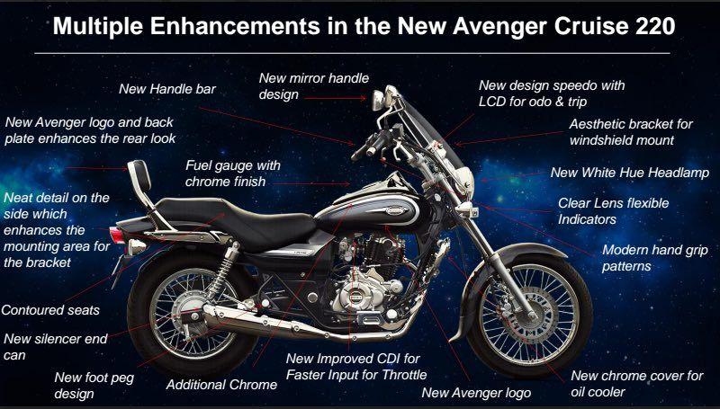 Bajaj Avenger Cruise 220 Specifications And Details Avenger