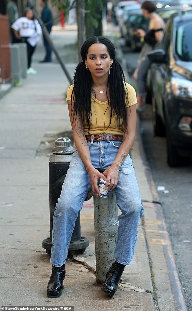 Zoë Kravitz continues to film High Fidelity reboot after her wedding