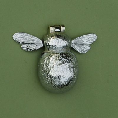 Chrome Country Bumble Bee Door Knocker