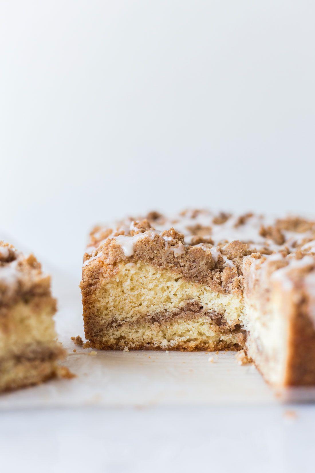 Cinnamon swirl coffee cake with vanilla glaze miss jones