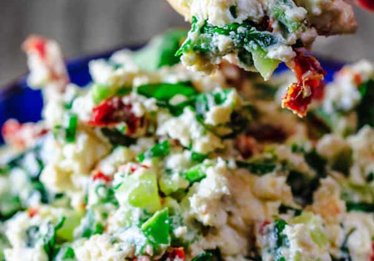 Trempette méditerranéenne au fromage feta   Recette ...