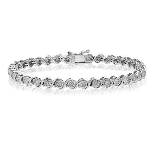 1 Ct Diamond Bracelet In 10k Gold 11 Grams List Price 1499 99 Deal Price 799 99 You White Gold Diamond Bracelet Bracelets Gold Diamond Diamond Bracelet