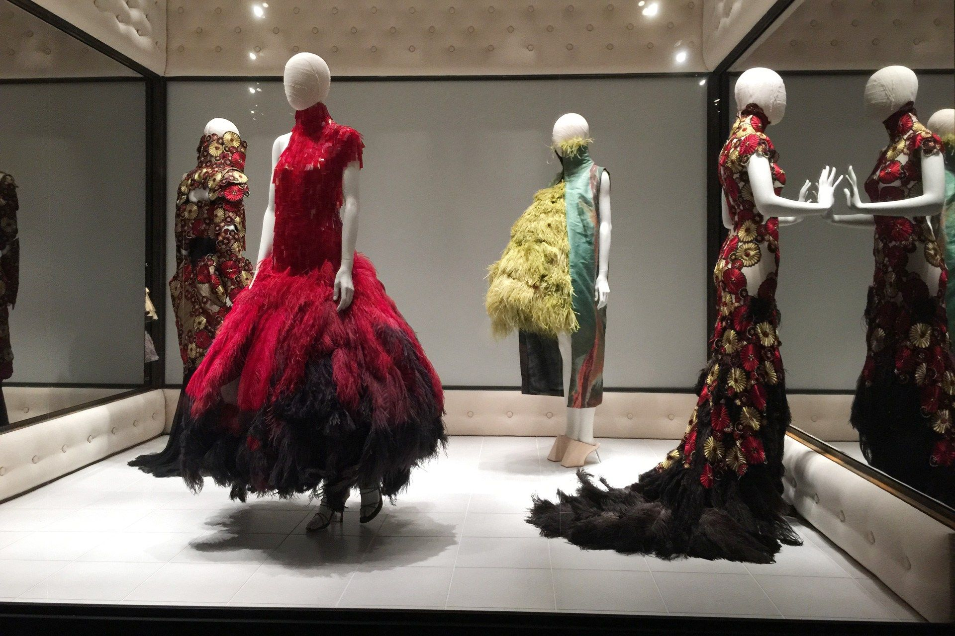 FIRST LOOK: McQueen's Savage Beauty