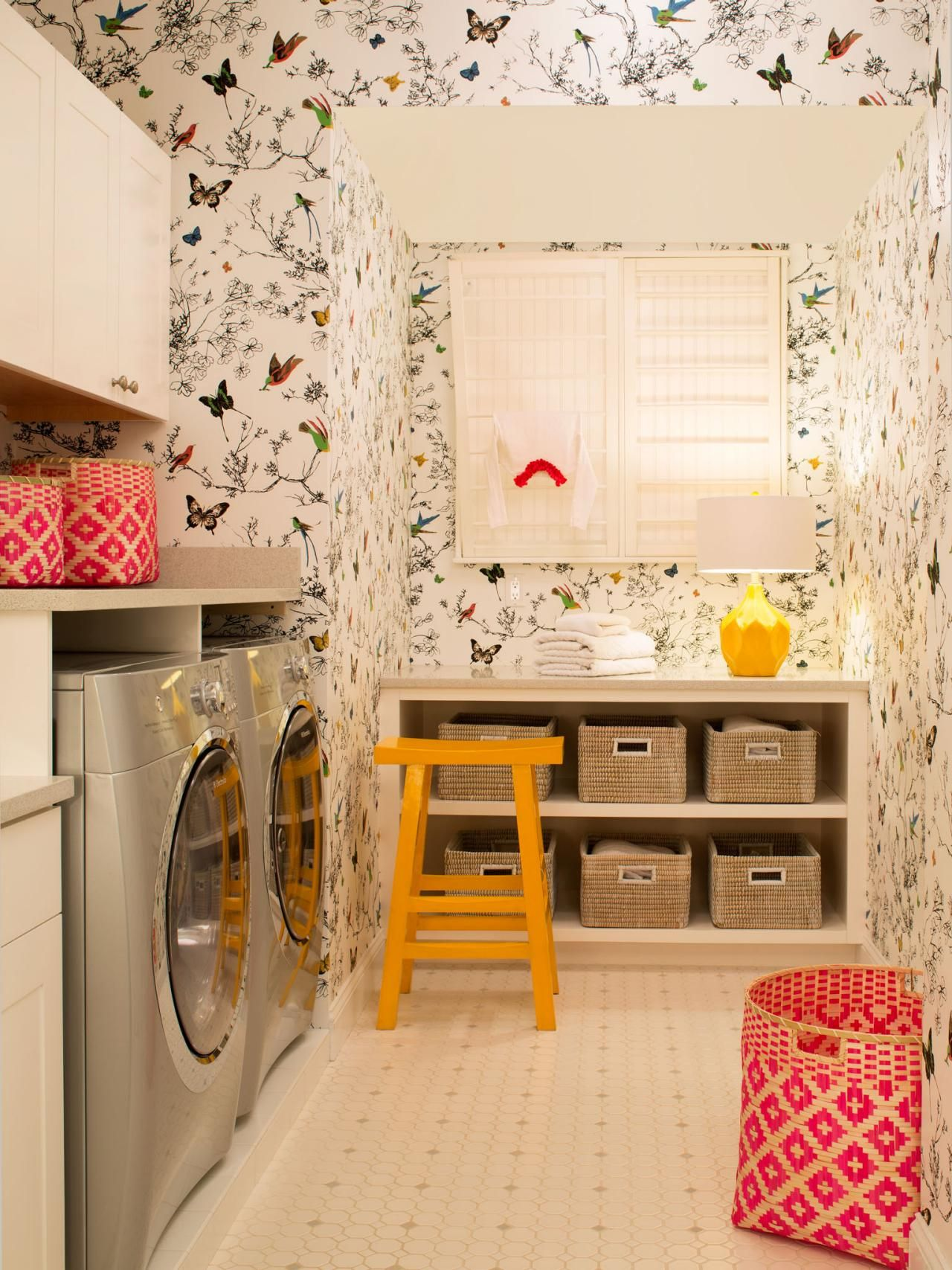 8 Tidy Laundry Rooms That Make Washday Fun