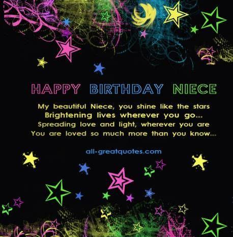 Share Free Birthday Cards For Niece Birthday Cards Happy Birthday Niece Niece Birthday Wishes Birthday Cards For Niece