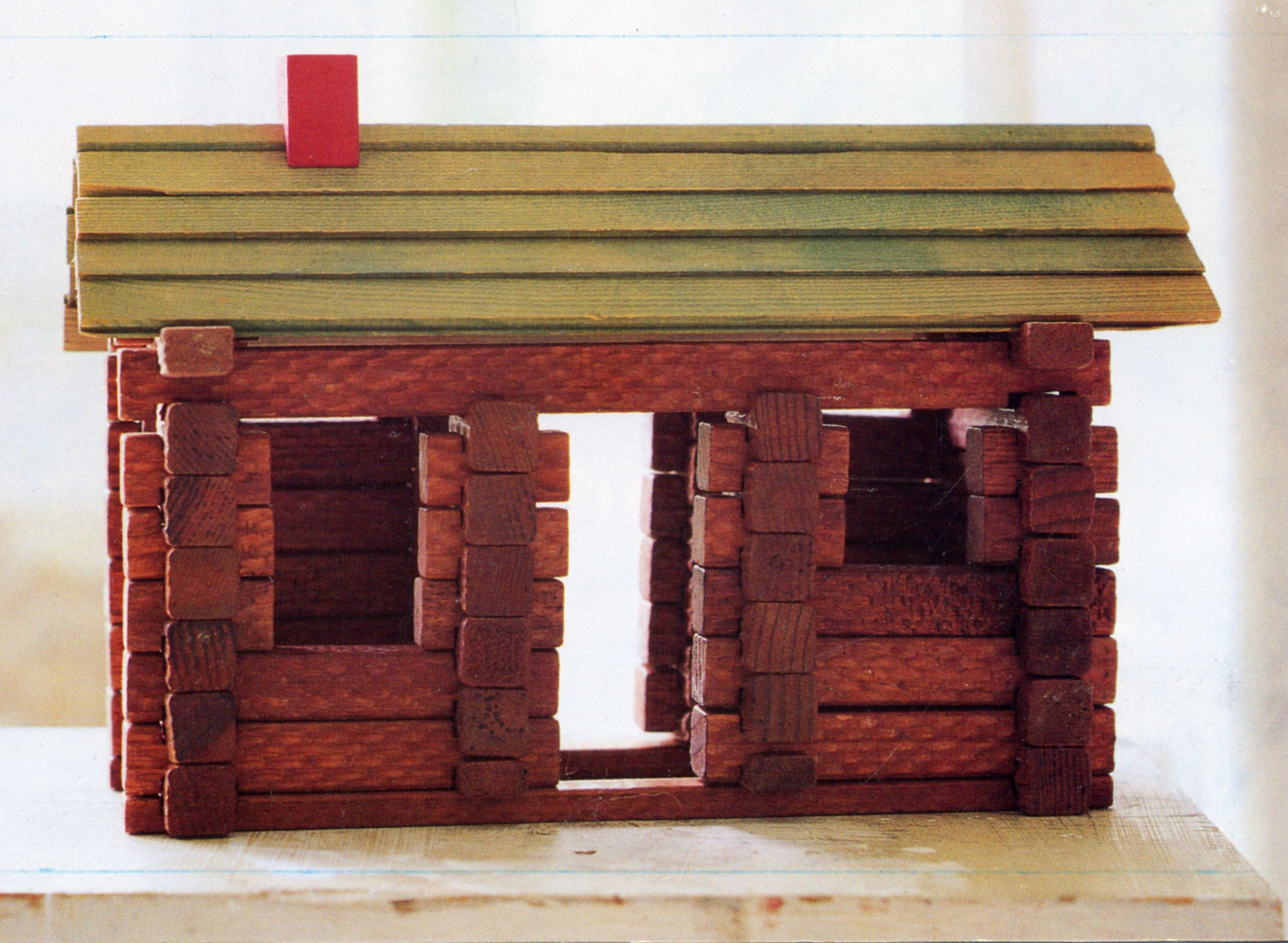 Very Impressive portraiture of LINCOLN LOG CABIN Back in the day Pinterest with #A02B31 color and 2700x1978 pixels
