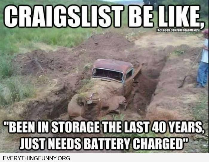 funny truck buried in mud craigslist be like in storage last 40
