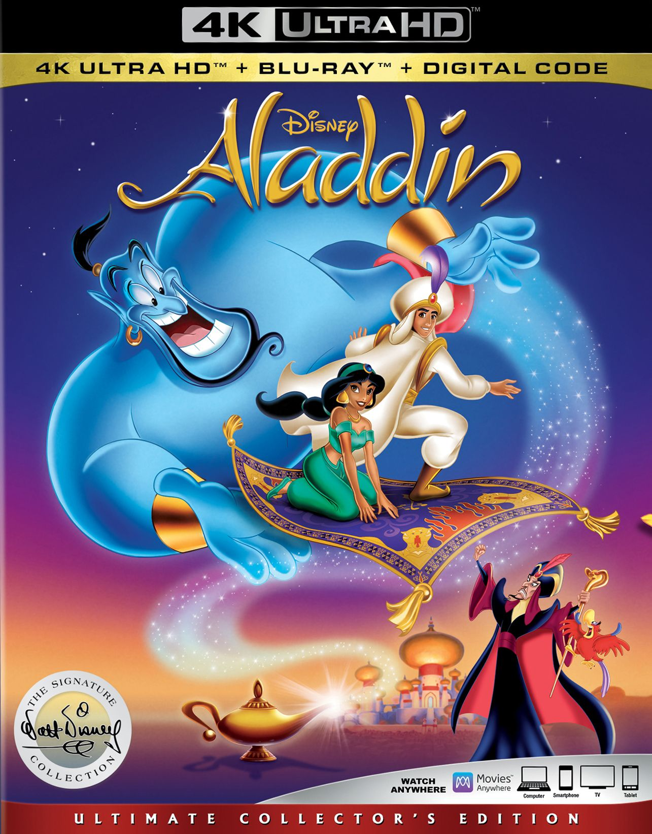 Pin By Hannah Walker On Disney Princess Aladdin Dvd Aladdin