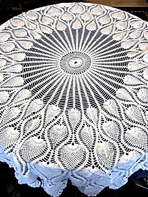 Pineapple Tablecloth Crochet Pattern Crochet For Beginners
