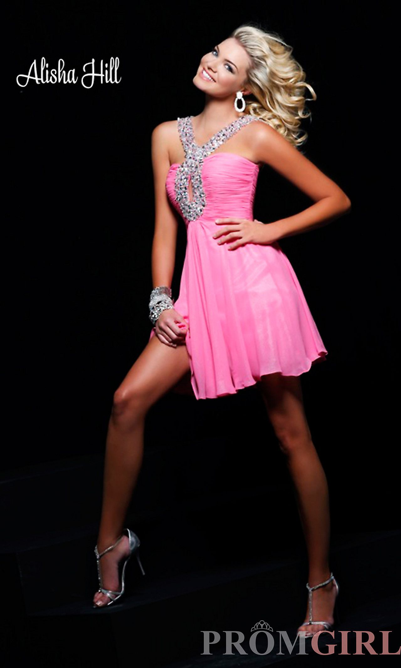Alisha Hill Short Homecoming Dress | hair | Pinterest | Short ...