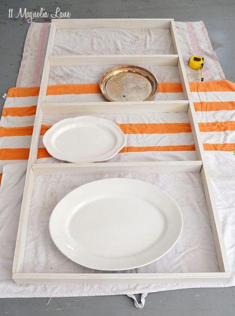 DIY Custom Plate Rack (For $40!) | 11 Magnolia Lane #plateracks