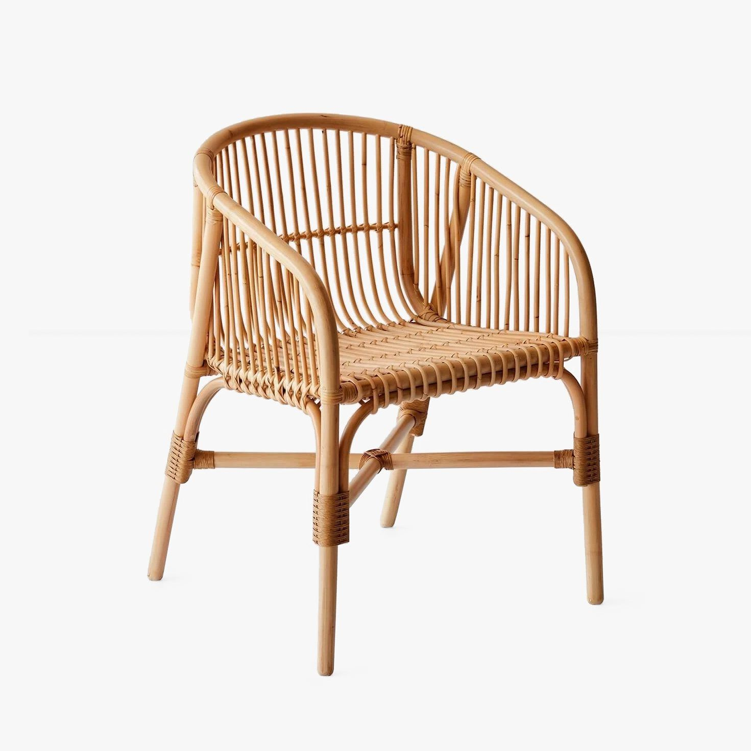Jakarta Rattan Dining Chair By Artisans Of Cirebon For The Citizenry Up Interiors Rattan Dining Chairs Dining Chairs Chair