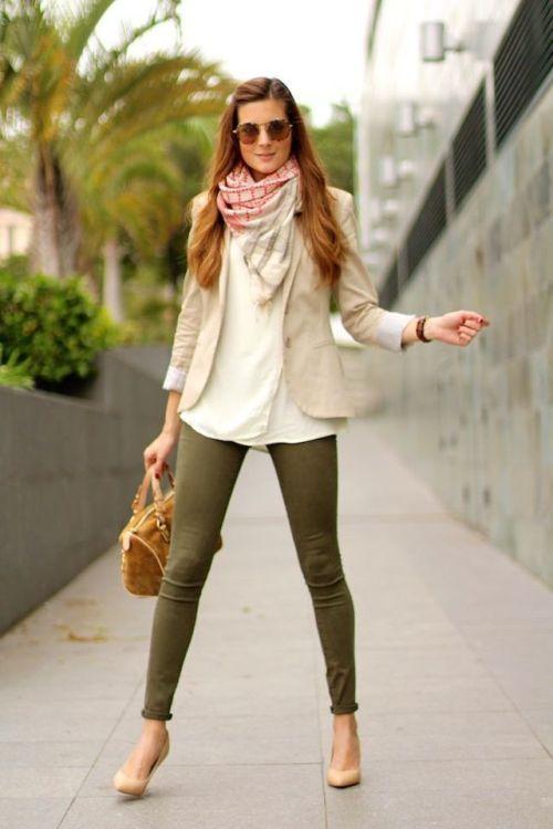 Que Me Pongo Hoy Estaesmimodacom Ropa Modelitos Combinar Moda Joven Fashion Outfits Fashion Olive Pants Outfit