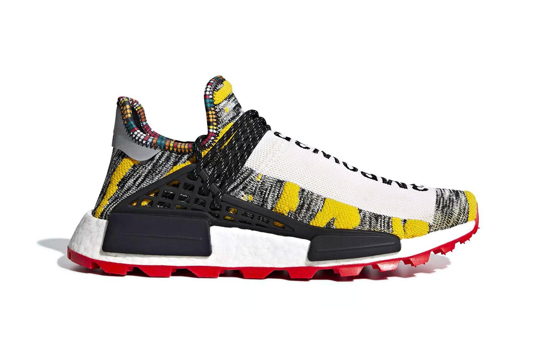1aa0b0e8d Pharrell Adidas NMD Hu Solar Pack Release Date