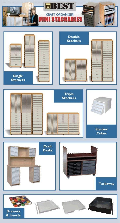 Best Craft Organiser   Stackables :: Storage Furniture Suppliers, Craft  Storage Boxes, Office