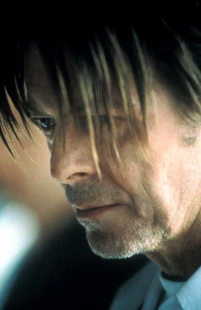 """David Bowie as Julian Priest in The Hunger (TV Series). Episode """"Sanctuary"""" ( S02E01 ) aired on 10 September 1999."""