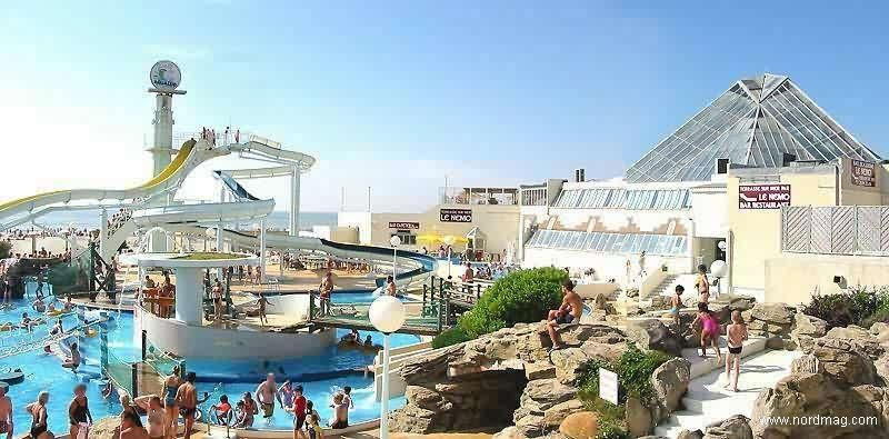 Centre Aquatique, Aqualud, Le Touquet-Paris-Plage, crédit photo: AQUALUD