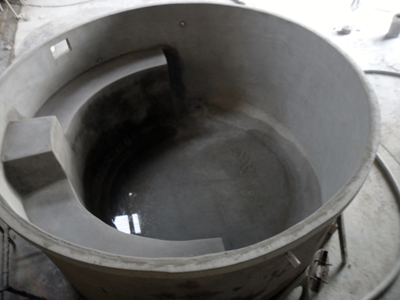 An ecowater concrete tanks plunge pool shell is an easy - Convert swimming pool to rainwater tank ...
