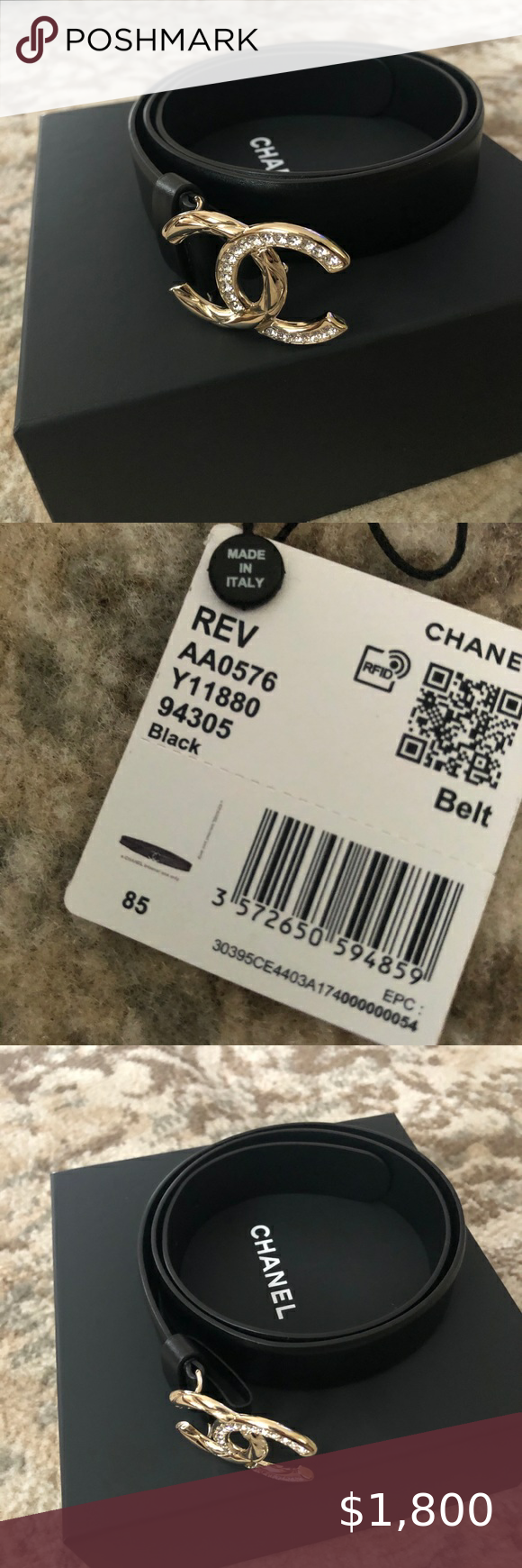 Cc Logo Chanel Authentic Belt In 2021 Chanel Store Neiman Marcus Chanel Chanel Accessories