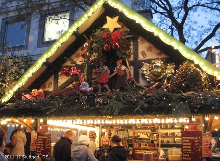 Stuttgart Christmas Market German christmas markets