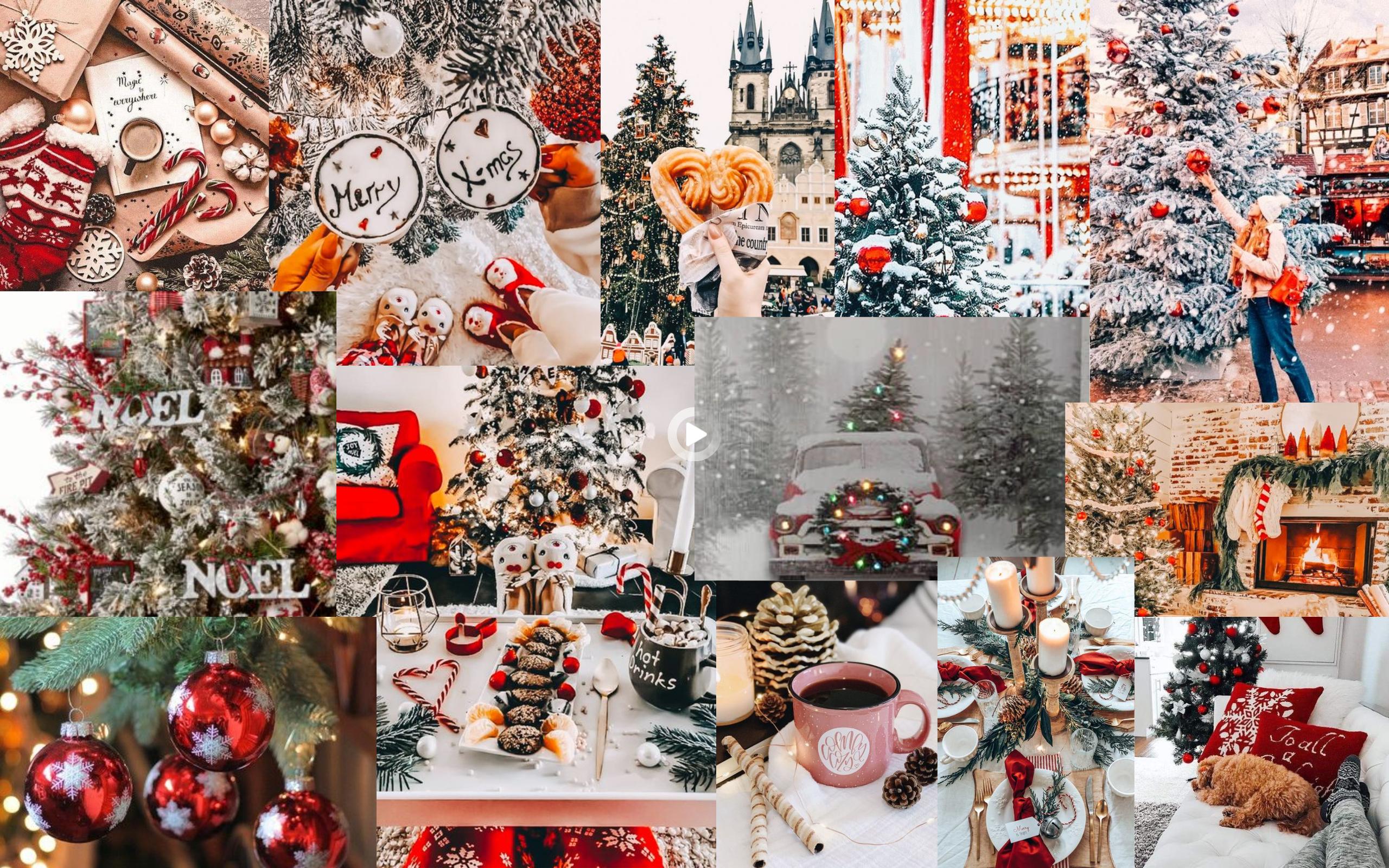 Christmas Collage For Computer Desktop Wallpaper In 2021 Wallpaper Iphone Christmas Christmas Desktop Wallpaper Cute Christmas Wallpaper