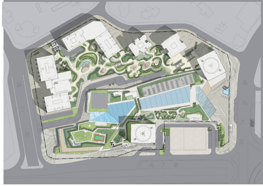 Starlight place aedas site plans master plan and landscaping Site plan design