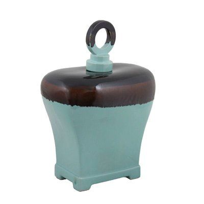Alcott Hill Traditional Ceramic Storage Jar