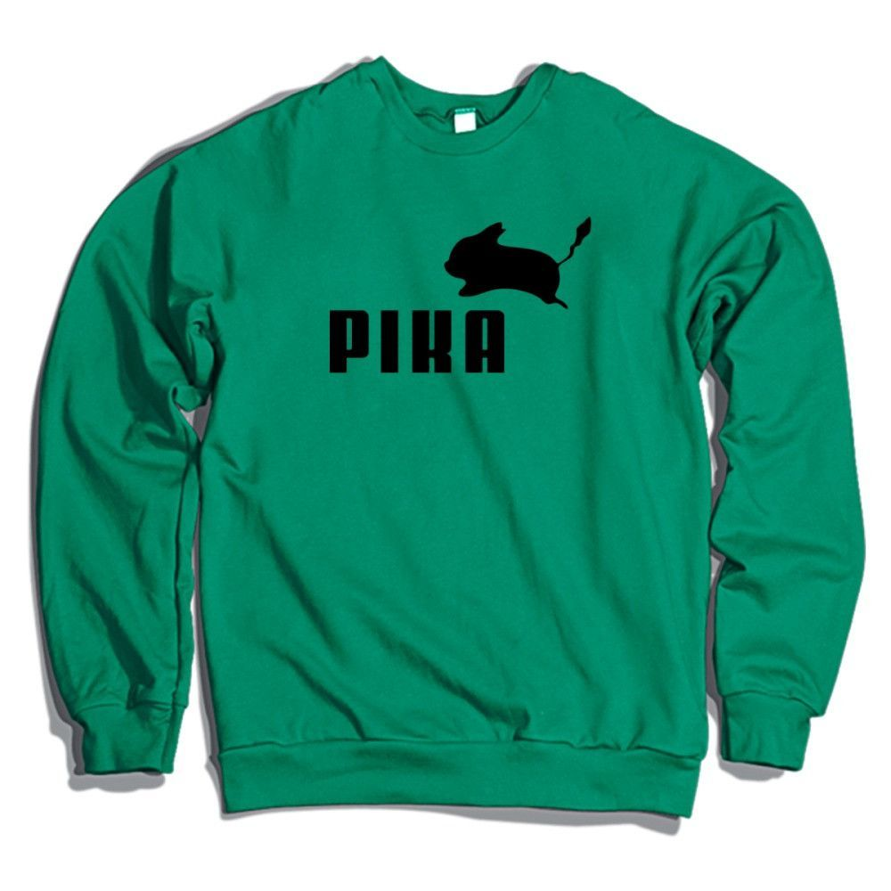 9d366823b34a Pika By Puma Crewneck Sweatshirt