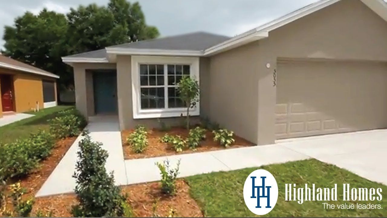 Take A Virtual Tour Of The Camellia Home Plan By Highland Homes This Video Showcases A New Home In Mulberry Florida T Highland Homes New Homes Florida Home