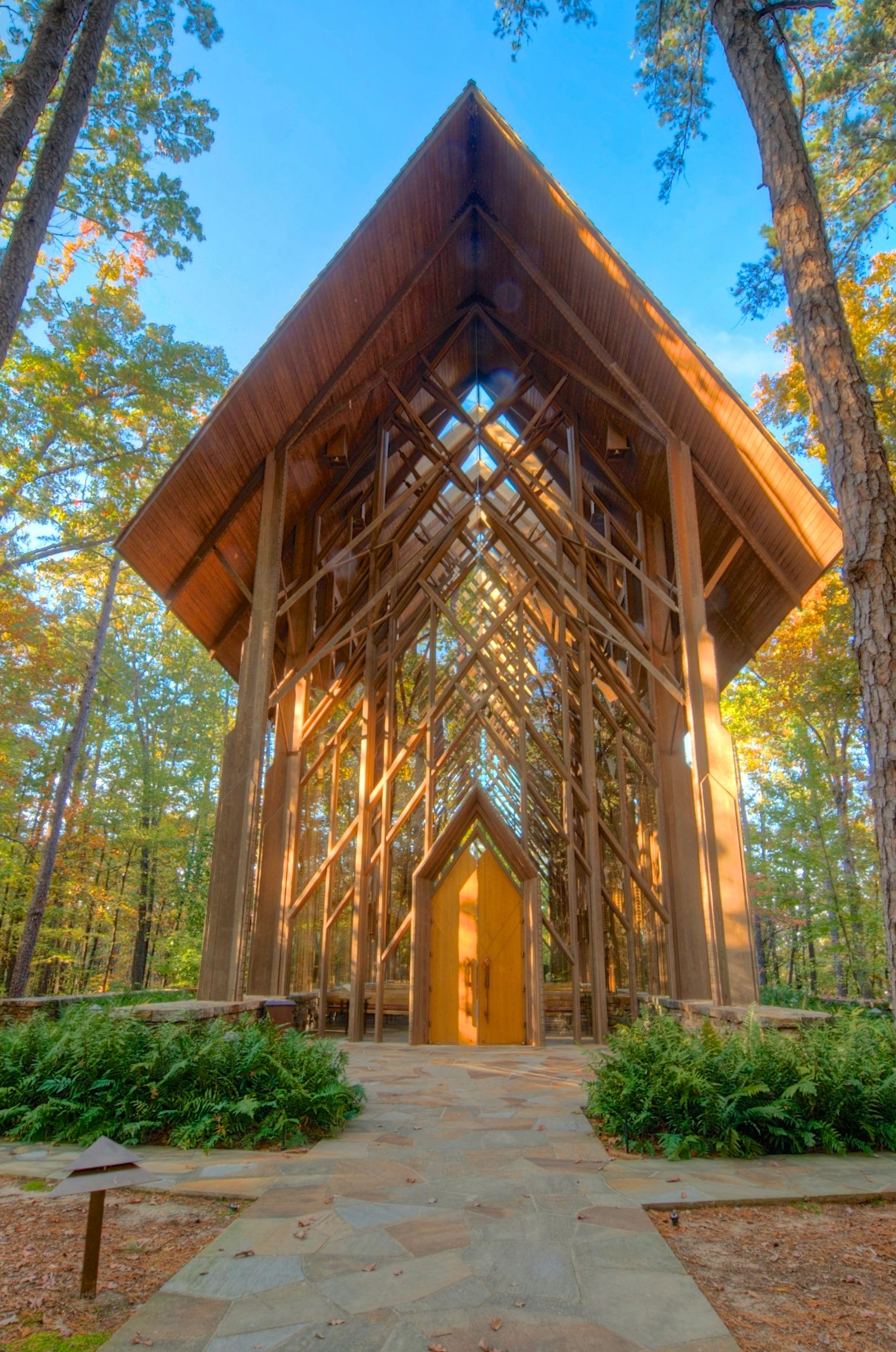 Another Picture Of Anthony Chapel At Garvan Woodland Gardens Arkansas Arkansas Wedding Venues Missouri Wedding Venues Woodland Garden
