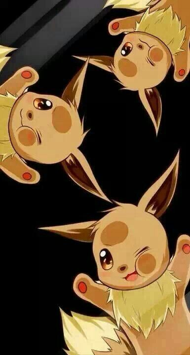 Eevee S For Your Phones Wallpaper Pokemon Pinterest Pokemon