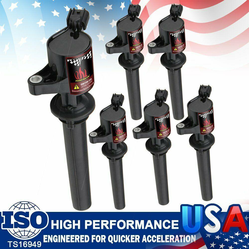 Advertisement Ebay 6pcs Ignition Coils Plug For Ford Escape Mazda