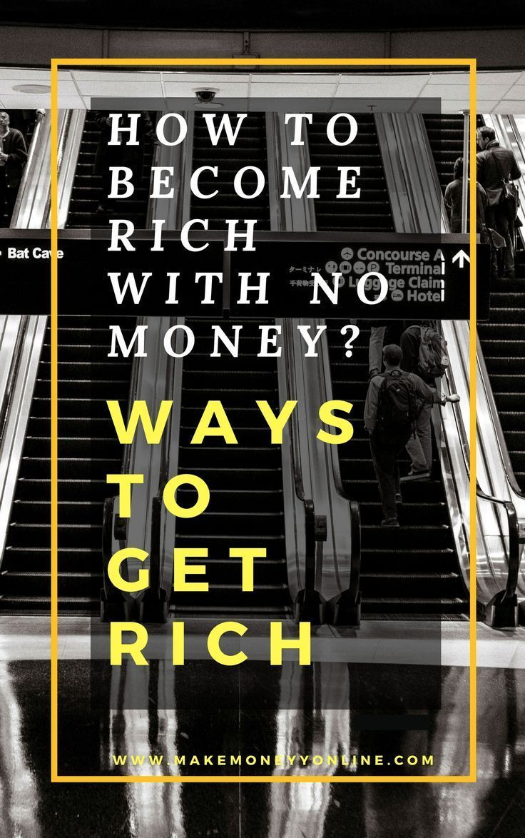How To Rich With No Money How to rich, How