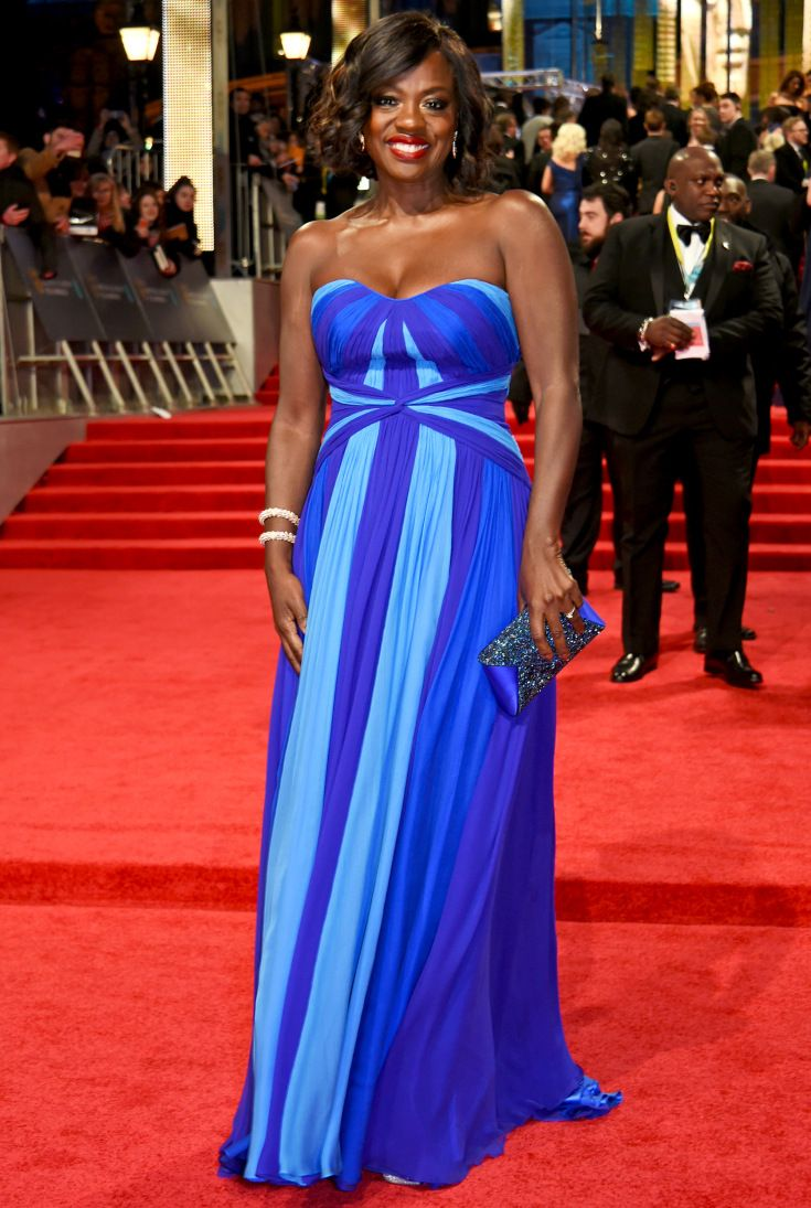 See all the glamorous looks from the bafta awards red carpet viola