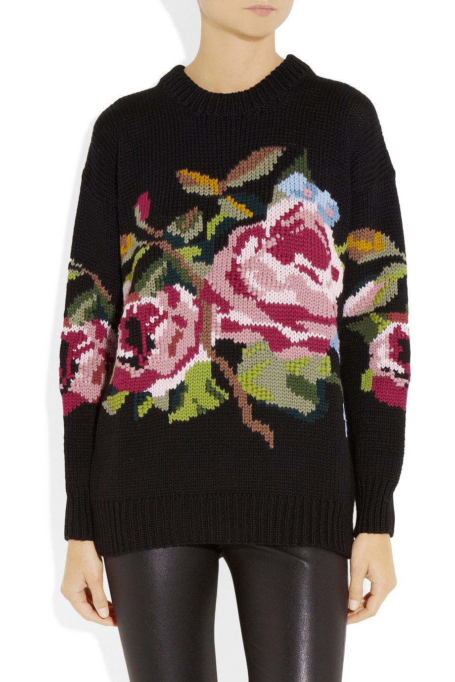 Cool Patterned Wool Sweater RdlhAqUYK