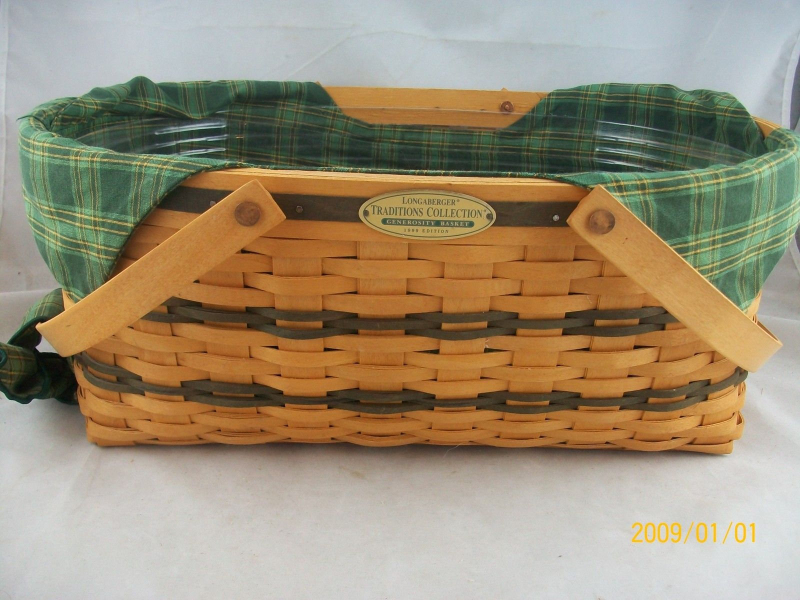 Longaberger 1999 Tradition Generosity Basket Combo - Love this ...