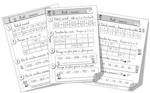 Mise à jour devoirs math CE1 | Maths ce1, Ce1, Cap maths ce1