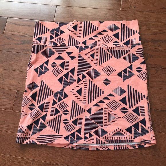 Tight tribal mini skirt Tight pink mini skirt with a tribal pattern Skirts Mini