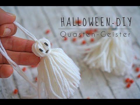 Video-Tutorials: Halloween-Geister basteln - Cuchikind #geisterbasteln