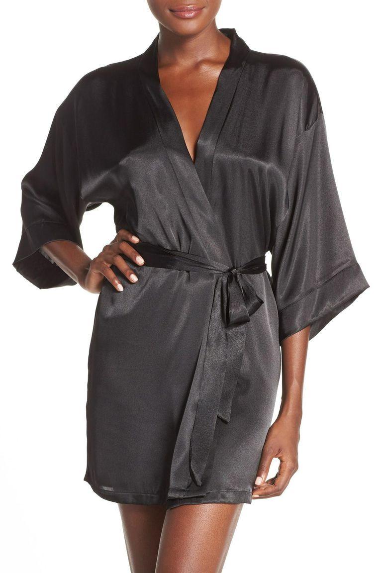 c0eabb20d7 This robe is like the little black dress of loungewear  elegant and  timeless.