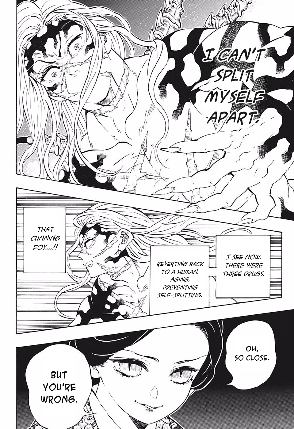 Demon Slayer Kimetsu No Yaiba Chapter 196 In 2020 Slayer Anime Slayer Manga