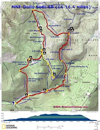 Image Result For Canaan Valley Hiking Trail Map
