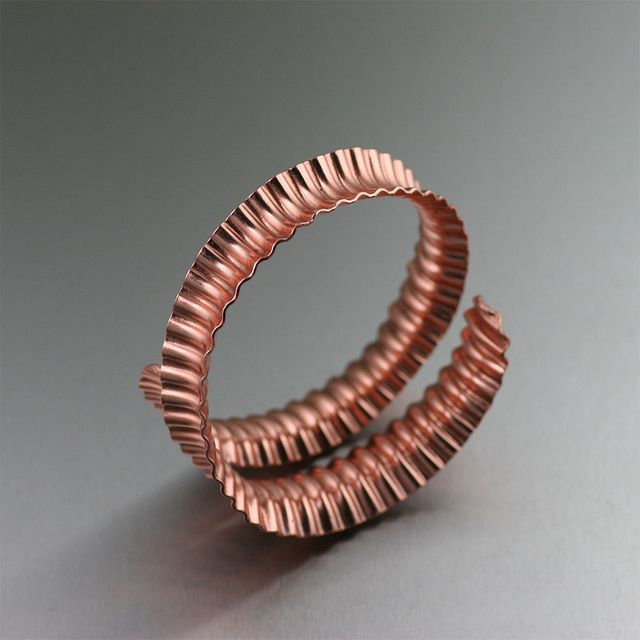 Corrugated Anticlastic Copper...