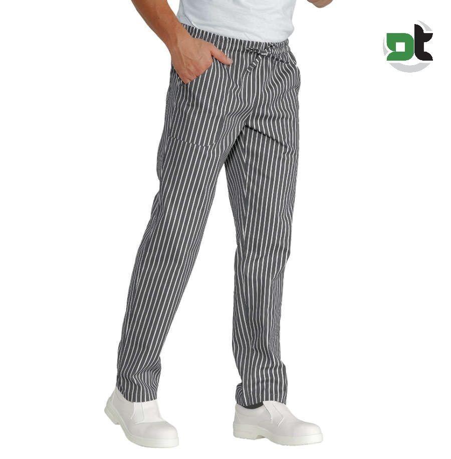 Isacco Pantalone da Cucina Pied de Poule