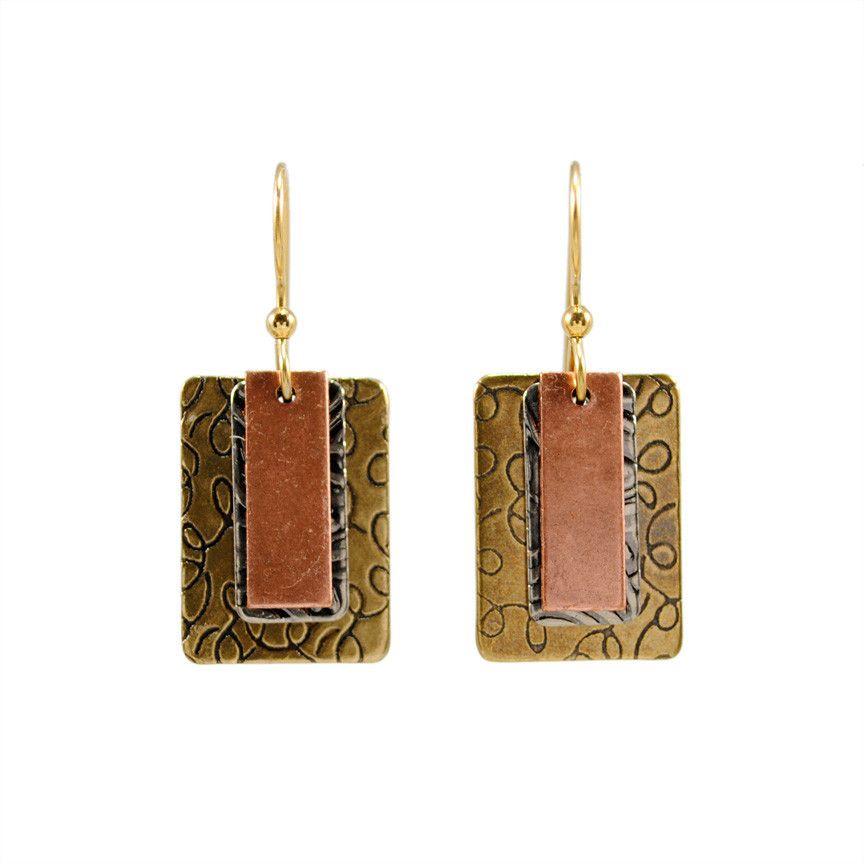 Silver Forest Earrings NE-0949
