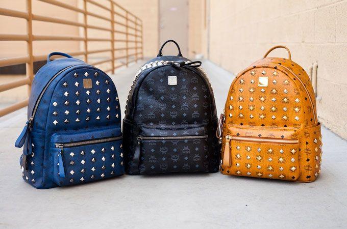 Las mochilas MCM son creación de la marca Mode Creation
