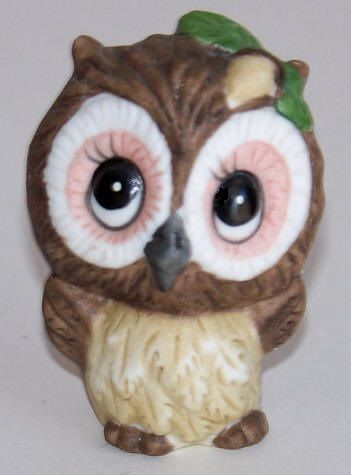 George Good Josef Originals Ceramic Owl Figurine 1975 Like New As Made No Chips In Ceramic Or Paint Hand Painted Glaz Ceramic Owl Ceramics Glazed Ceramic