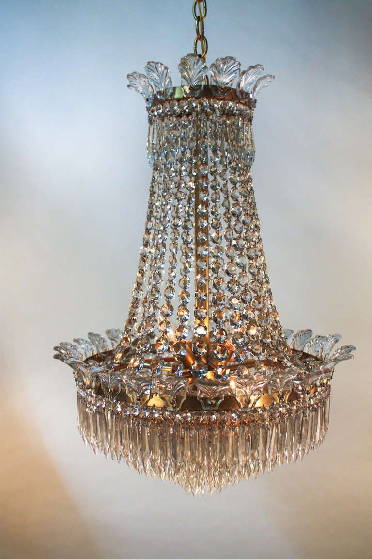 1930s spanish empire style crystal chandelier empire style 1930s spanish empire style crystal chandelier arubaitofo Gallery
