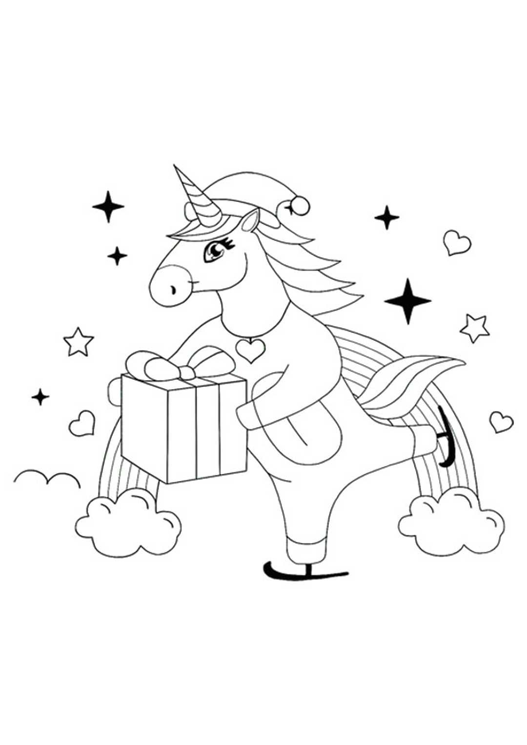 Christmas Unicorn Coloring Pages Unicorn Coloring Pages Free Printable Coloring Sheets Mermaid Coloring Pages